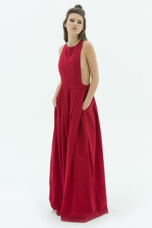LAYANA AGUILAR jumpsuit with open back