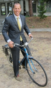 commuter cycling style