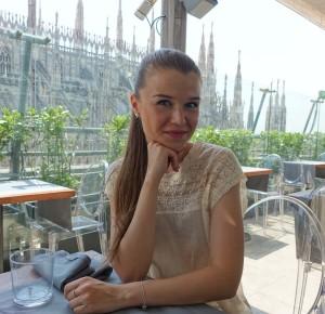 Julia Berezina in Milan