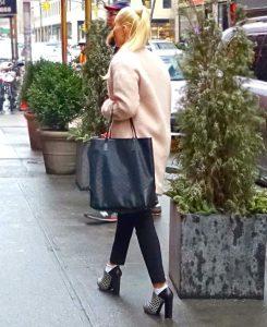 Liliya Anisimova in NYC
