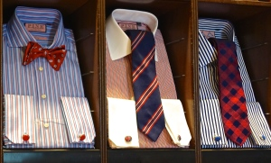 Selecting a great tie