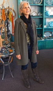 Thrift store clothing maven