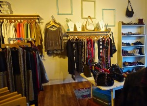 Thrift clothing store