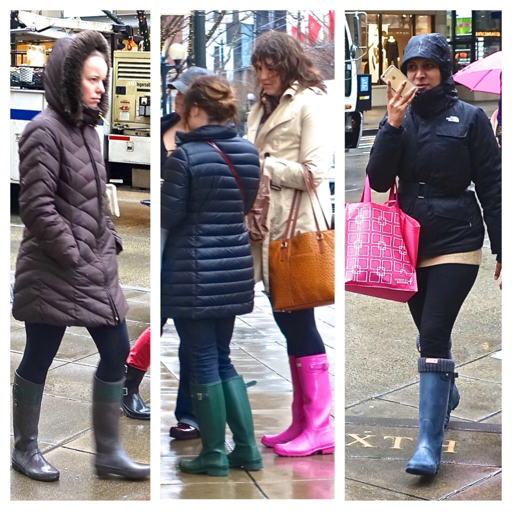 Galoshes in Seattle