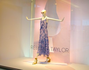 Spring collection window display