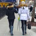 Fur-lined hoods in NYC