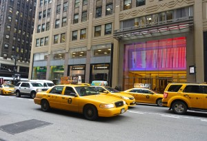 Taxi cabs in NYC