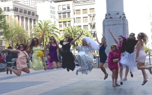 Wedding jump pic
