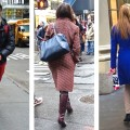 Dressing in color in NYC