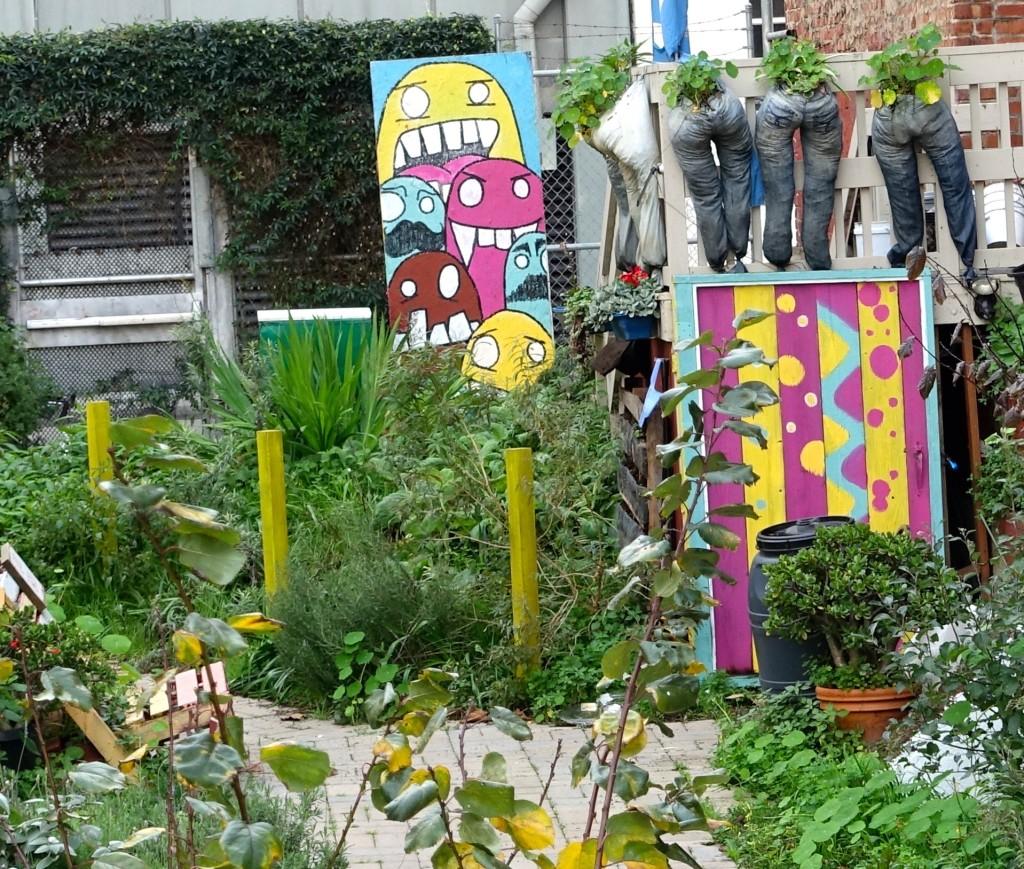 Urban garden, Hayes Valley