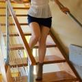 Janea Mastandrea booties in summer