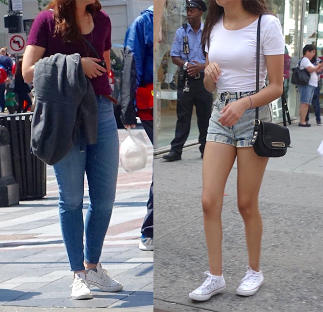 How to Wear Converse, and How Not To