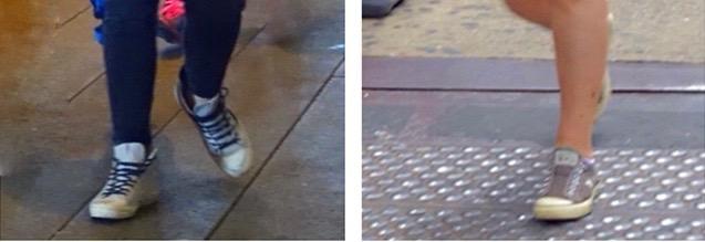 Untied Converse