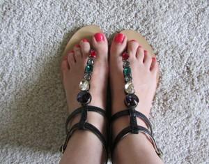 Dolce & Gabbana flat sandals