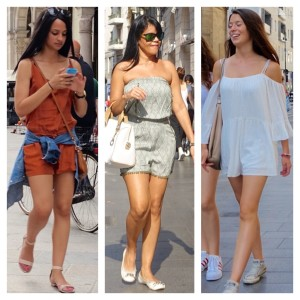 Rompers in Milan