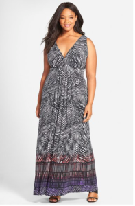 Maxi dress from Nordstrom