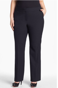 Curvy fit pants at Nordstrom