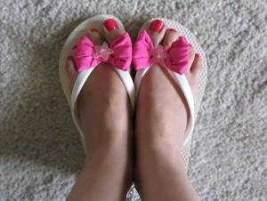 Benetton flip-flops