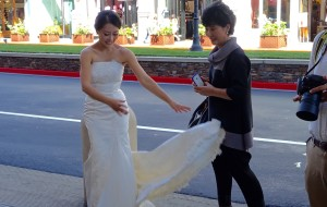 Wedding photo, Santana Row