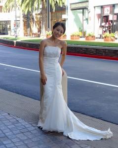 Wedding photo, Santana Row