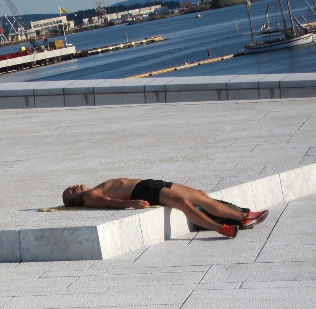 Summer wear in Oslo