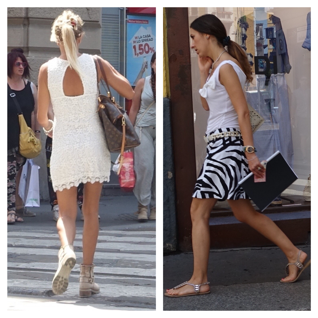 Good Morning Beautiful Woman In Italian : Differences between russian versus italian street style
