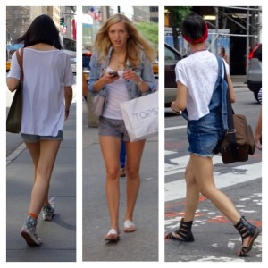 how to wear short shorts