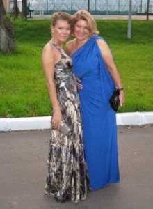 Russian friend and her mother