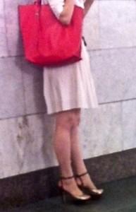 Russian women in heels