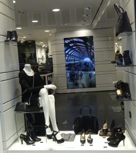 Nero Giardini store in Milan