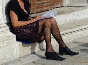 Tights in Venice