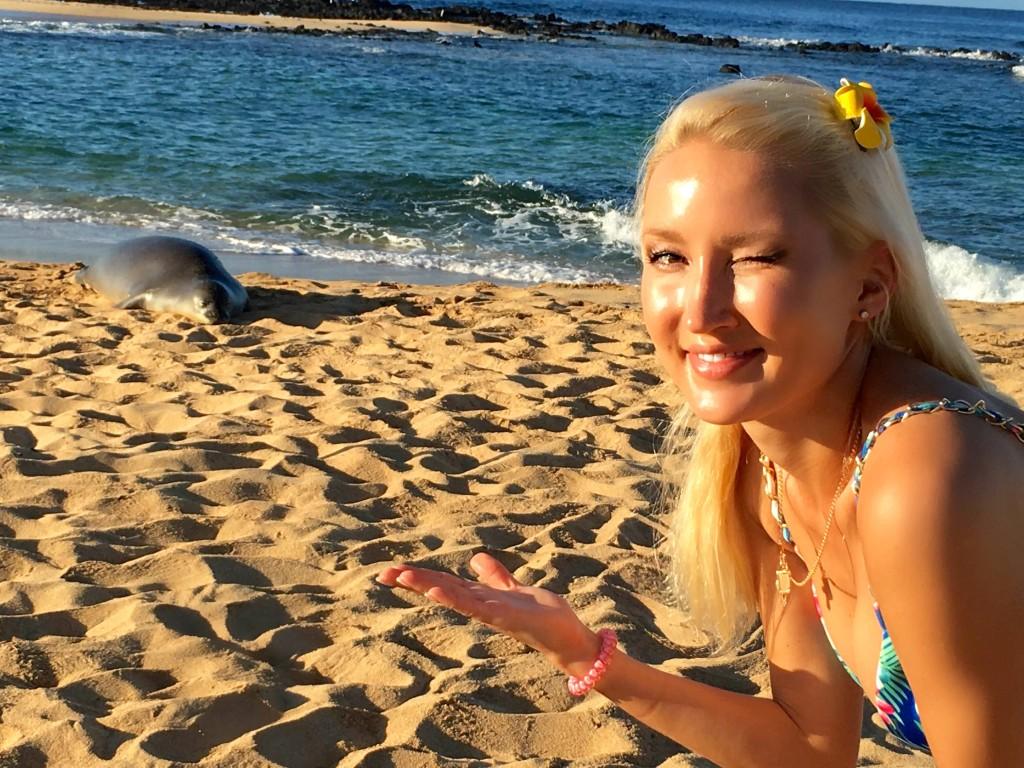 Going aloha!