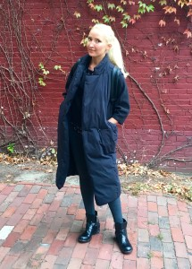 Liliya's All-black layering