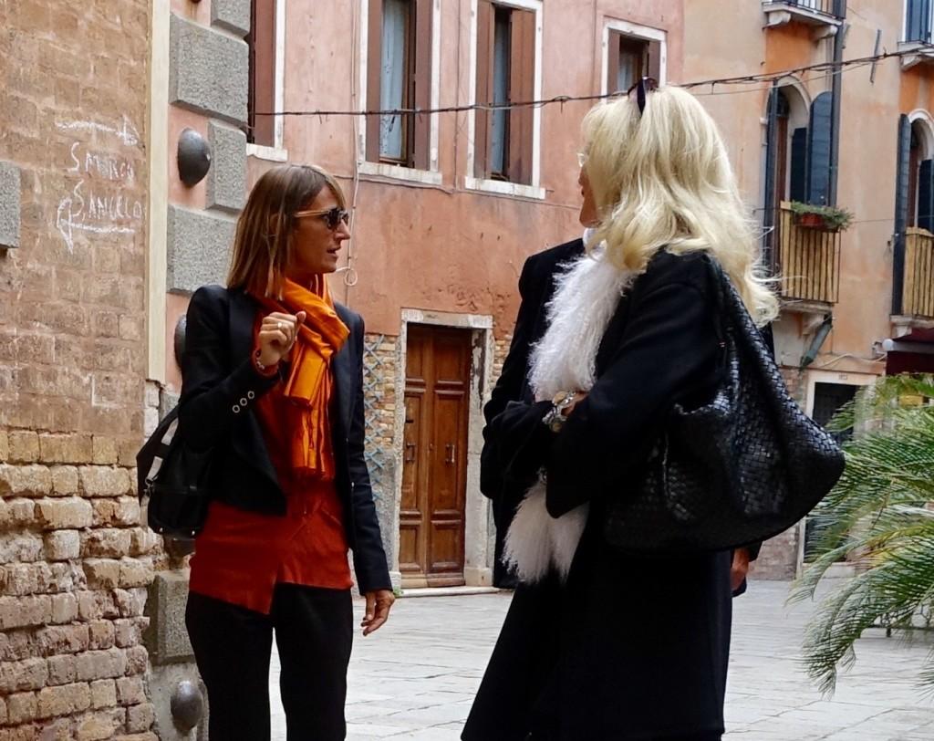 Scarves in Venice