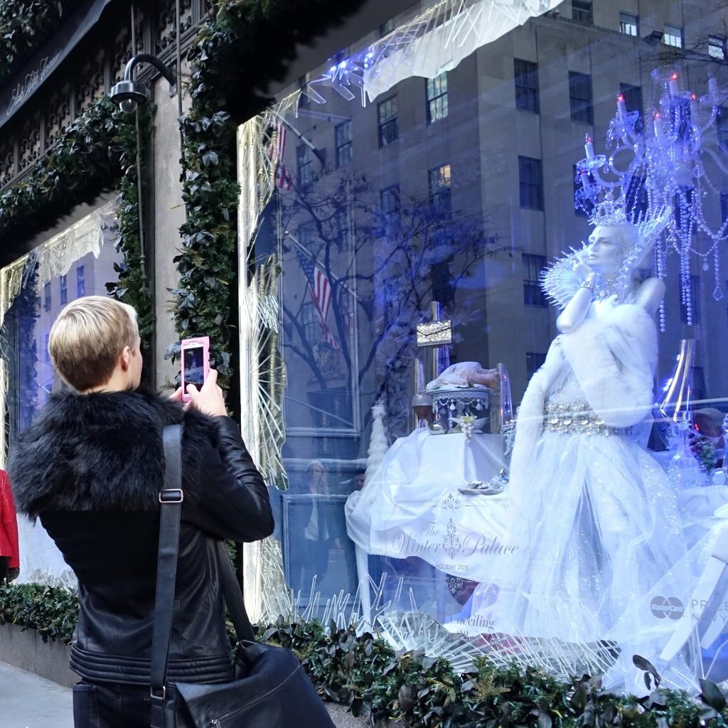 Saks Fifth Avenue Christmas window