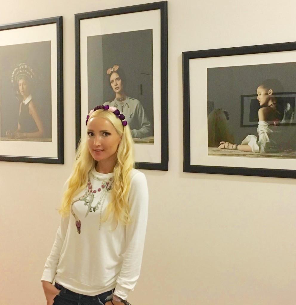 Liliya's #OOTD - art opening