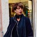 Black lipstick in Milan