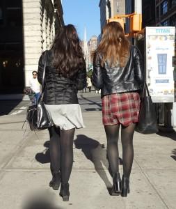 Friends who dress alike