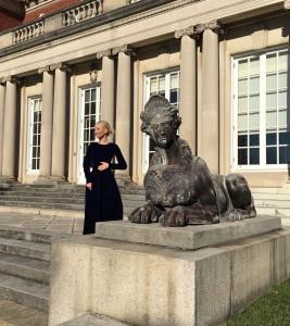 Liliya Anisimova at Westbury Mansion