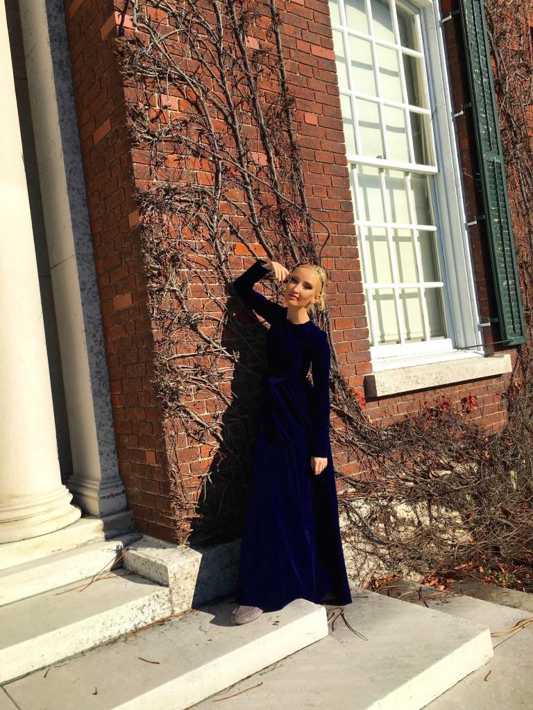 Liliya Anisimova's Scarlett O'Hara dress