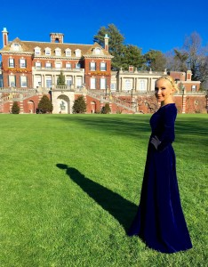 Liliya Anisimova at the Westbury Mansion
