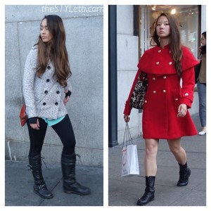 Statement coats with big buttons in San Francisco