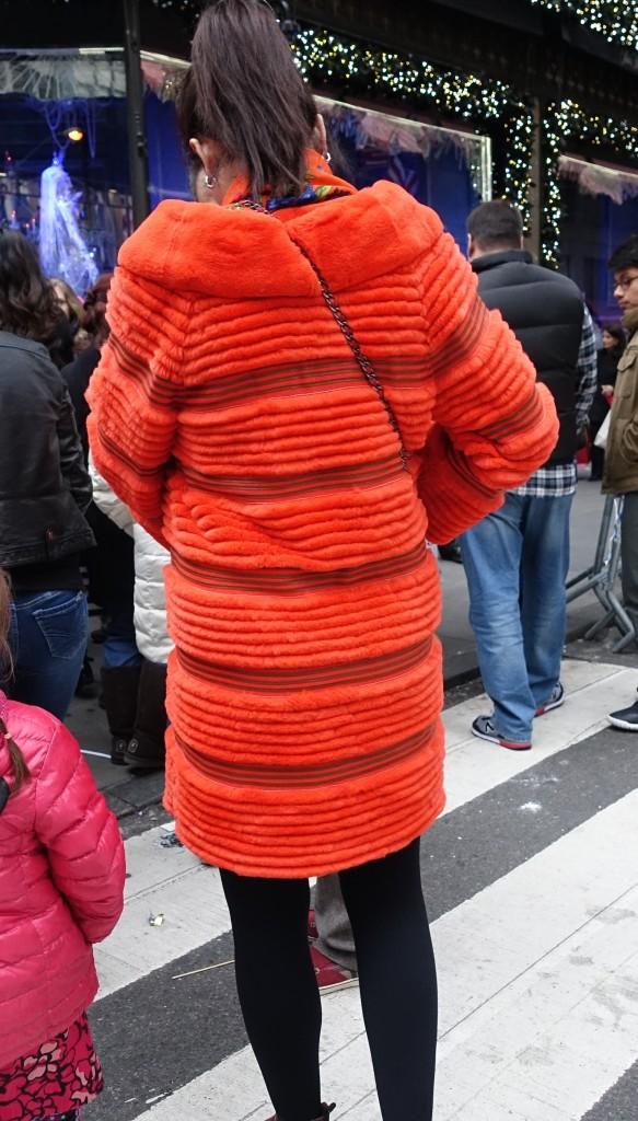 Fantasy fur coat