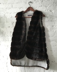 Harvey Faircloth fur vest