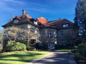 Pacific Northwest mansion
