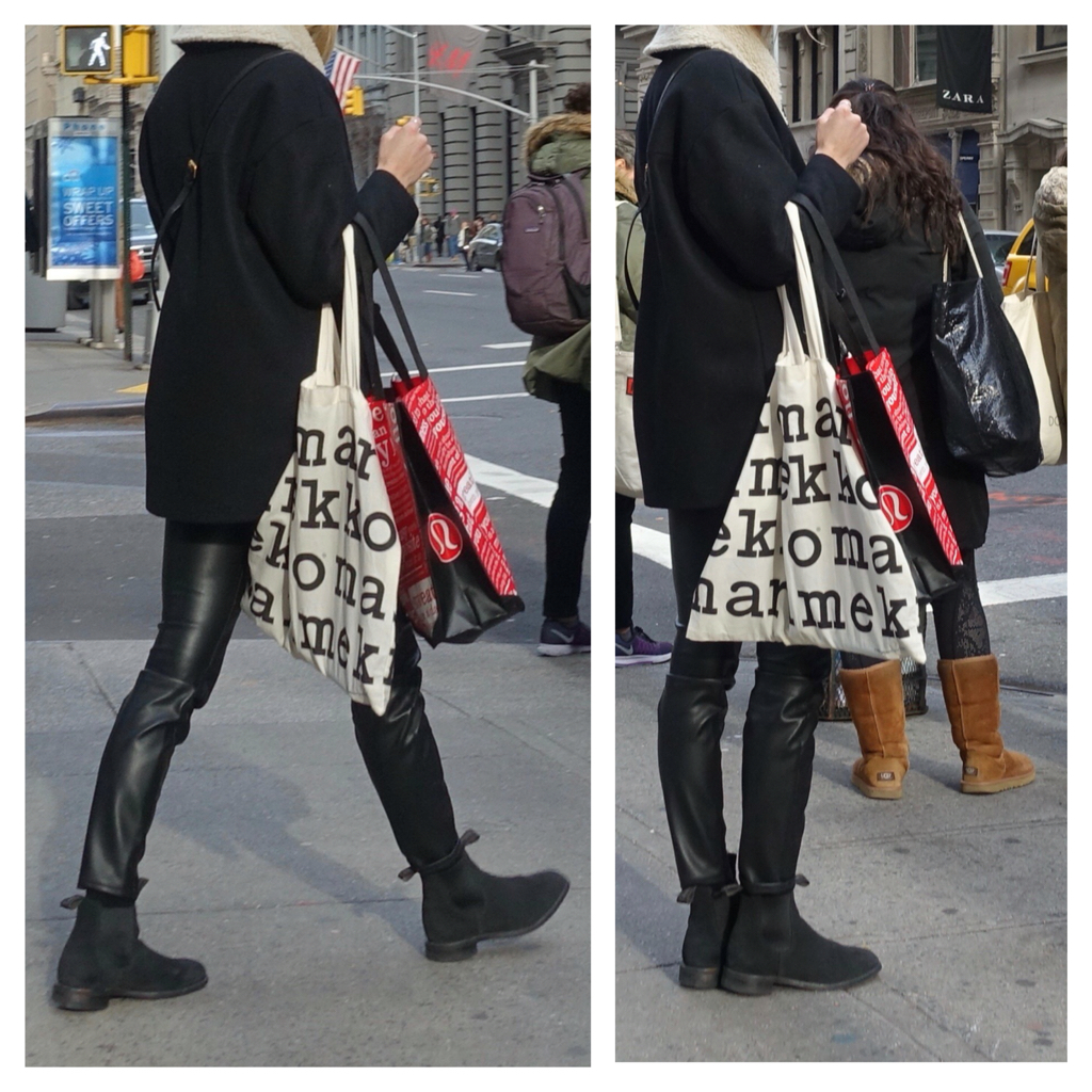 how not to wear leather leggings