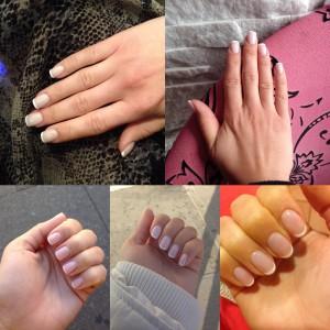 Liliya's French manicure