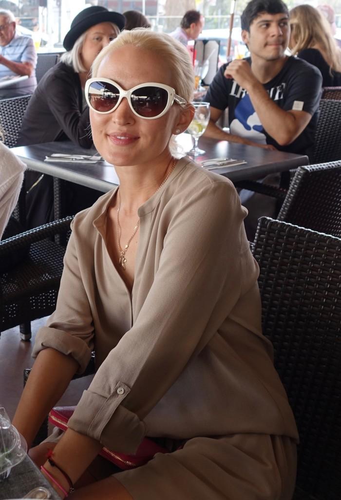 Liliya Anisimova's #ootd - romper in L.A.