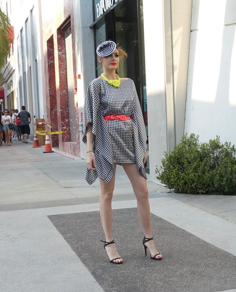 Model on Rodeo Drive