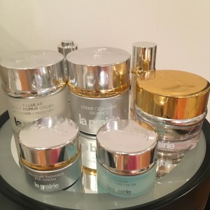 La Prairie skin products